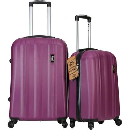 caa58c548cdde Fossil Kabin ve Orta Boy Valiz Seti Abs Bavul Mor 1225 Fiyatı