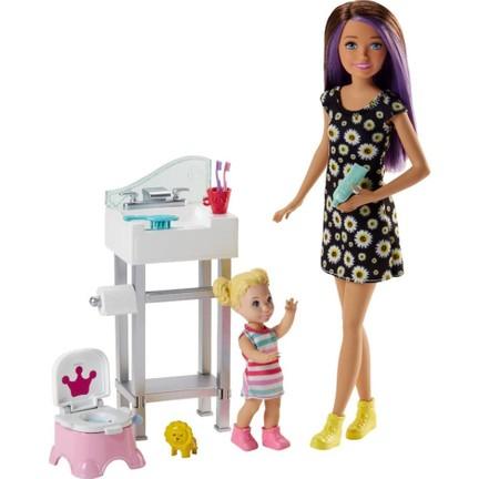Barbie Bebek Bakıcılığı Oyun Seti Fhy97 Fjb01 Fiyatı