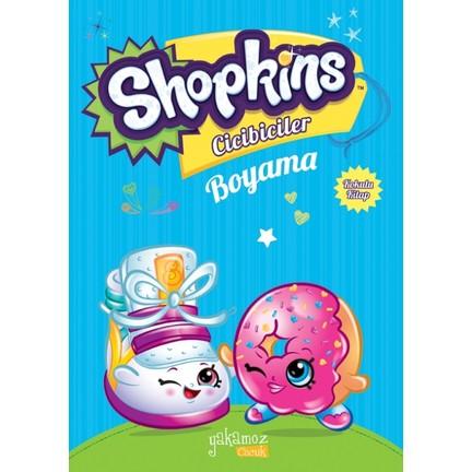 Shopkins Cicibiciler Boyama Kitabı Mavi Fiyatı Taksit Seçenekleri