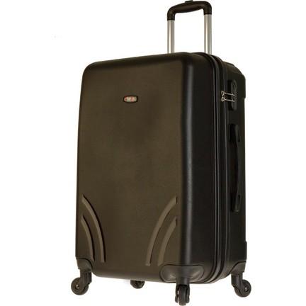 06d89a635c268 TUTQN Kırılmaz Plastik Bavul Orta Boy Valiz %100 PP Siyah Fiyatı