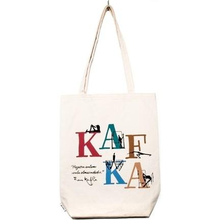 fe1bfa8cb31b9 Çağdaş Edebiyat Serisi Bez Çanta - Kafka Fiyatı