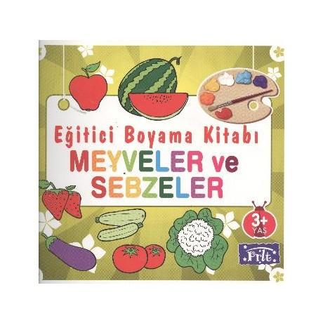 Egitici Boyama Kitabi Meyveler Ve Sebzeler Fiyati