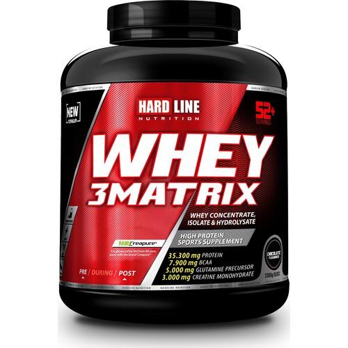 Hardline Whey 3 Matrix Protein 2300 gr