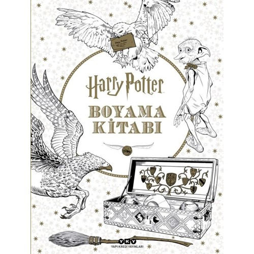 Harry Potter Boyama Kitabı Hazel Bilgen Fiyatı