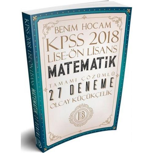 Pdf Indir Benim Hocam Yayınları 2018 Kpss Lise önlisans Matematik