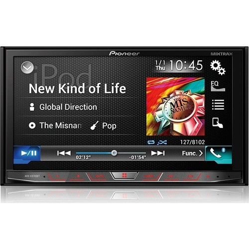 Pioneer AVH-X8700BT Multimedya Navigasyon CarPlay Android Auto Double DVD USB Oto Teyp