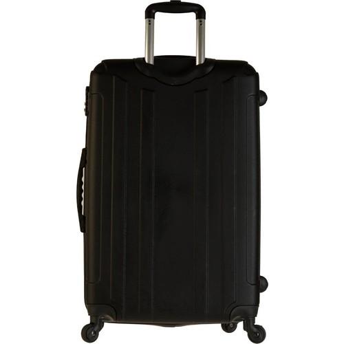 d7cb0ecfcb9f1 Tutqn Kırılmaz Plastik Bavul Siyah Büyük Boy Valiz %100 Pp Fiyatı