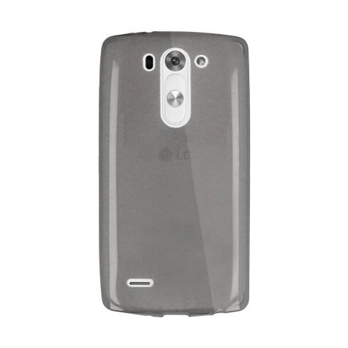 Case 4U Lg G3 D723 Beat Ultra İnce Silikon Kılıf Füme