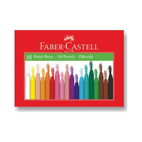 Faber-Castell Karton Kutu Pastel Boya 18 Renk