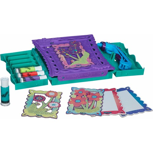 Hasbro Doh Vinci Tasarım Çantası Doh Vinci 6'lı Yedek Tüp 84 gr İki Renk