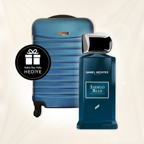 Daniel Hechter Collection Couture Indigo Blue Erkek Parfümü Edp 100 Ml + Kabin Boy Valiz Hediyeli