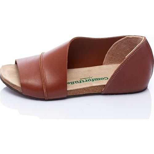 Comfortfüsse Lina Taba Kadın Ayakkabı