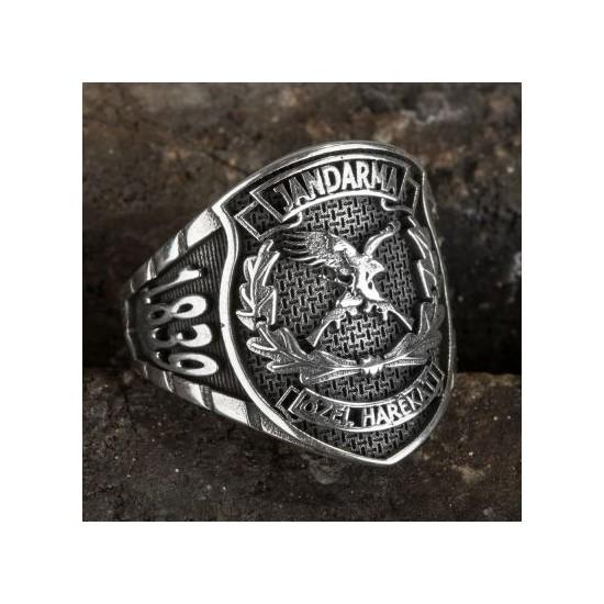 Anı Yüzük Taşsız Jandarma Özel Harekat (Jöh) Yüzüğü