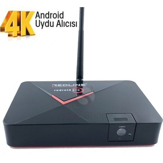 Redline Redroid Pro 4K Kameralı Uydu Alıcısı