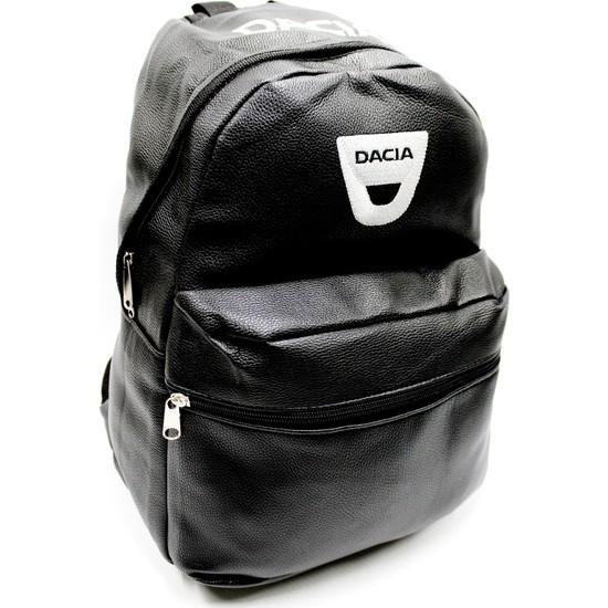 Simoni Racing Dacia Logo ve Yazılı Deri Sırt ve Bagaj Çantası 251131