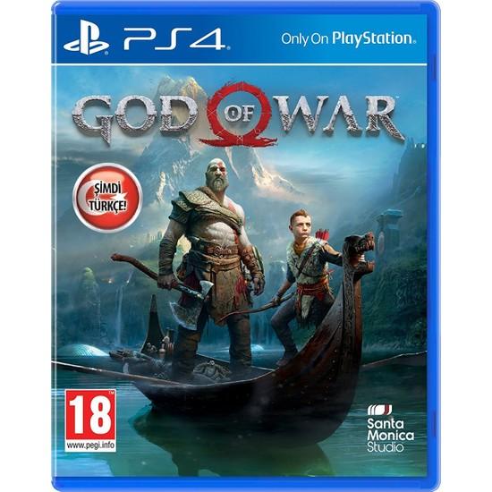 God Of War PS4 Oyun-Türkçe Menü