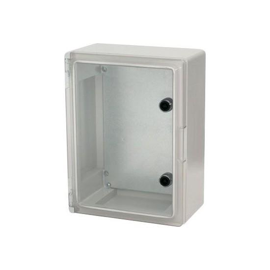 Elektrik Panosu Polikarbon Şeffaf Kapaklı 40x50x17,5