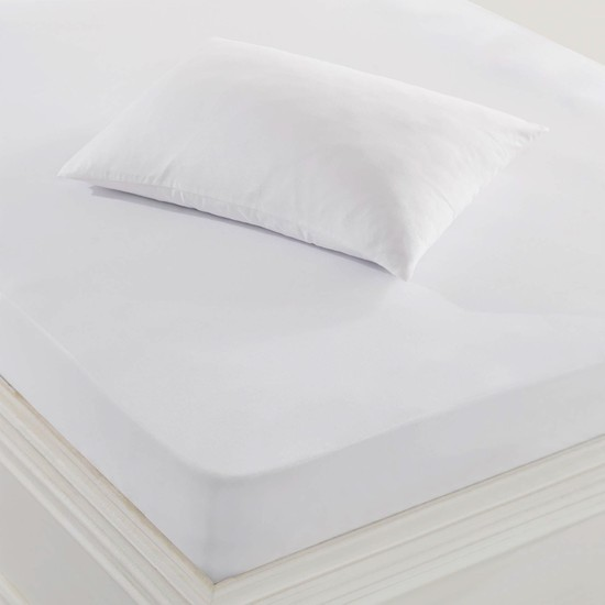 Marie Claire Yastık Alezi Sıvı Geçirmez 50X70 Cm Fıcus Beyaz