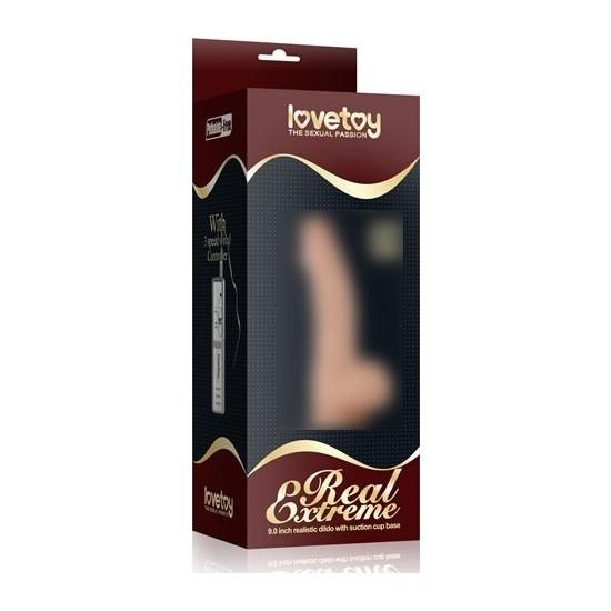 Lovetoy Real Extreme Gerçekçi 23 Cm Kalın Realistik Dildo Penis