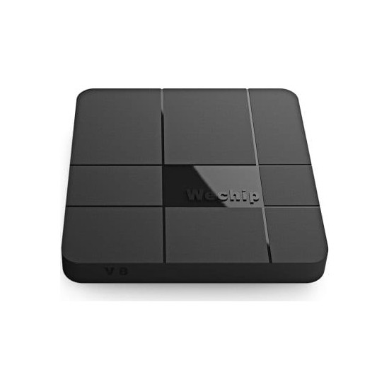 Wechip V8 2GB RAM + 16GB ROM Kodi 17.3 Yüklü Android 7.1 TV Box