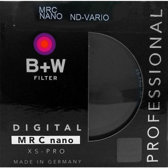 B+W 82mm XS-PRO DİGİTAL ND VARİO MRC NANO FİLTRE