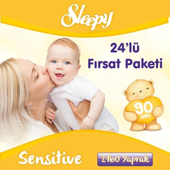 Sleepy Islak Mendil Sensitive 90 x 24'lü