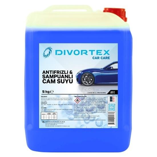 Divortex - 30° Antifrizli & Şampuanlı Cam Suyu 5 lt.