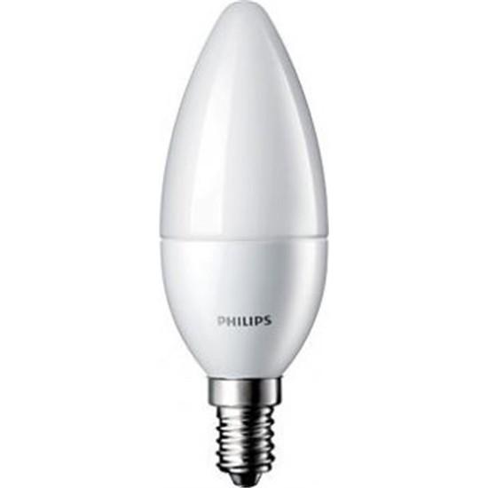 Philips 5,5 W Led Mum Ampul E14 2700K Sarı Işık