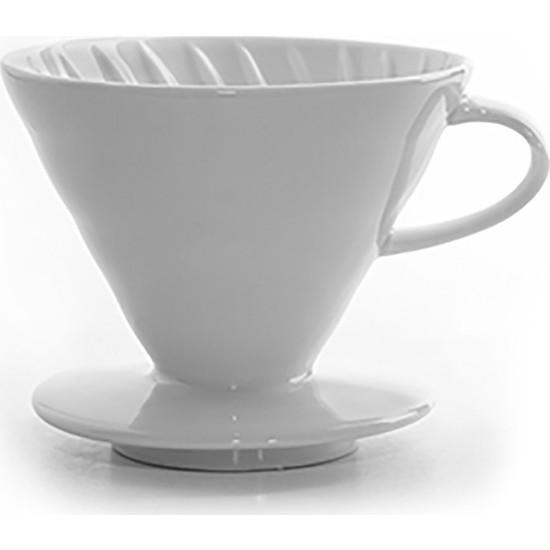 Epinox Seramik Kahve Demleme V60 02 - Beyaz