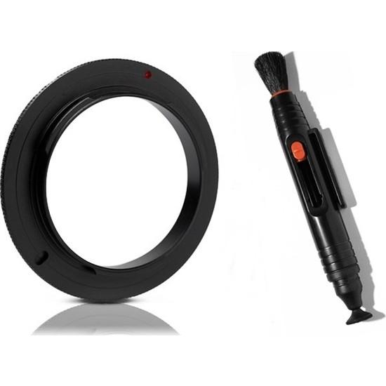 Nikon 18-105mm Lens için 67mm Macro Makro Ters Lens Objektif Adaptörü + Lenspen