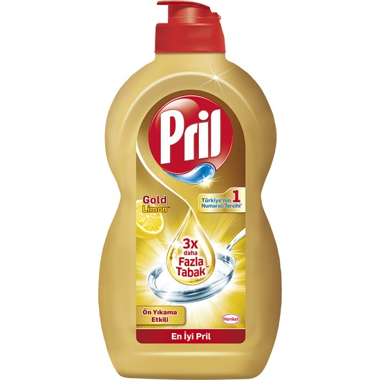 Pril Power Gold Limon Bulaşık Deterjanı 450 ml