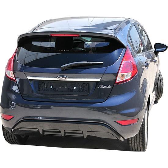 Ford Fiesta 2009 - 2016 ST Arka Tampon Eki - Difüzör (Plastik)