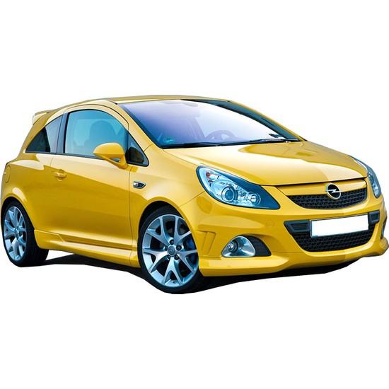 Opel Corsa D 2007 - 2013 OPC 2 kapılı (Coupe) Yan Marşpiyel Seti (Plastik)