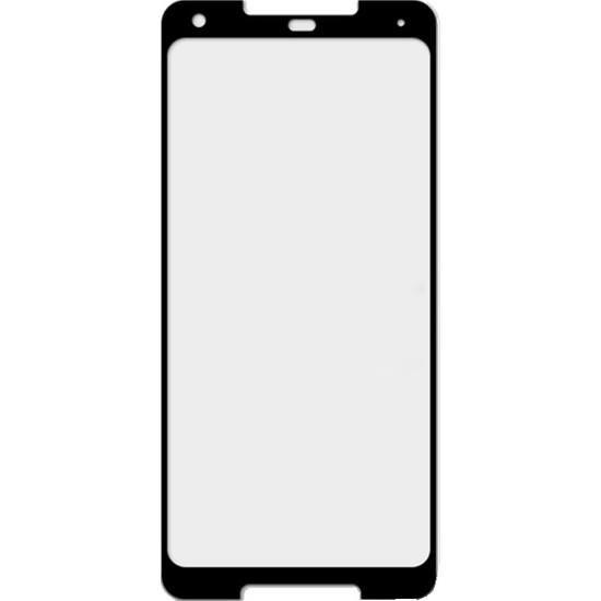 Microcase Google Pixel 2 XL Tam Kaplayan Tempered Glass Cam Ekran Koruyucu