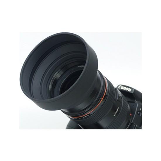 Ayex Üç Kademeli 55Mm Kauçuk Lens Hood (Parasoley)