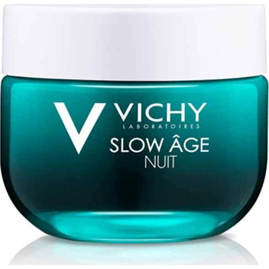 Vichy Slow Age Gece Kremi&Maskesi Probiyotik Türevi İçeren Detoks Etkili Kırışıklık Karşıtı 50 ml