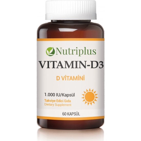 Farmasi̇ Nutriplus Vitamin-D3