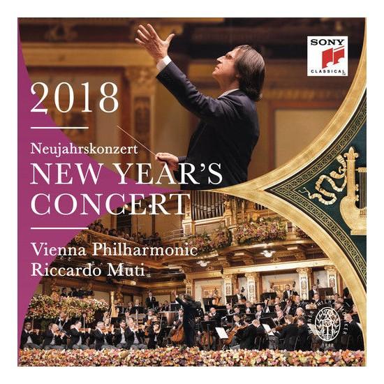 Vienna Philharmonic / Riccardo Muti – 2018 Neujahrskonzert (New Year's Concert) 2CD