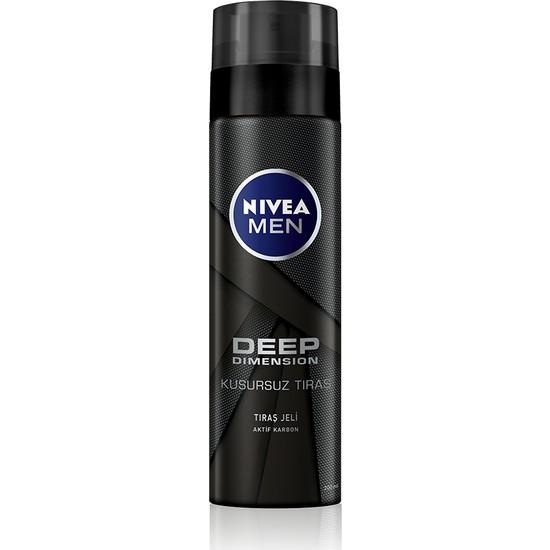 Nivea Men Deep Dimension Tıraş Jeli 200 ml