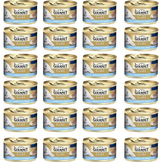 Gourmet Gold Kıyılmış Ton Balıklı 85 Gr x 24 Adet
