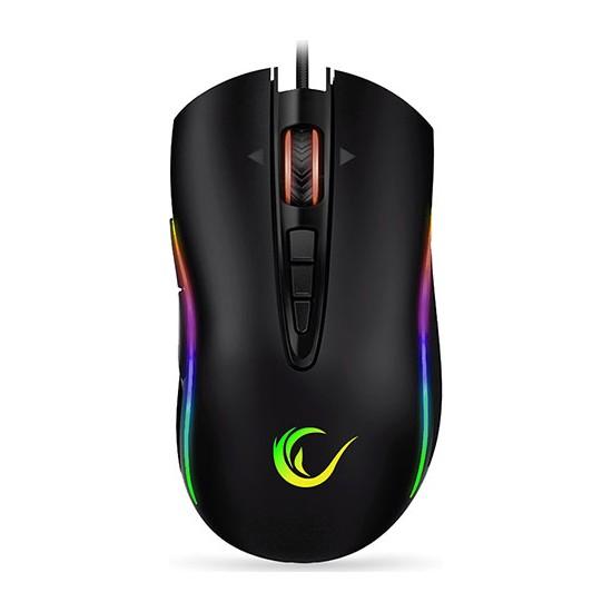 Rampage Shine SMX-R15 10000 DPI RGB Oyuncu Mouse Siyah - Gri