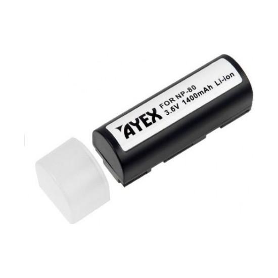Ayex Fujifilm Np-80, Kodak Klıc 3000, Ricoh Db-20 Muadili Batarya