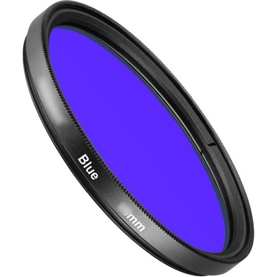 AZT 67mm Full Color Blue Mavi Efekt Filtre