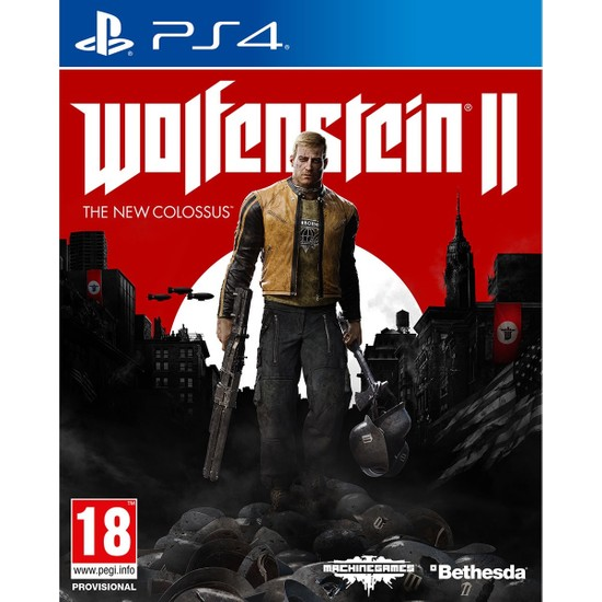 Wolfenstein II The New Colossus PS4 Oyun