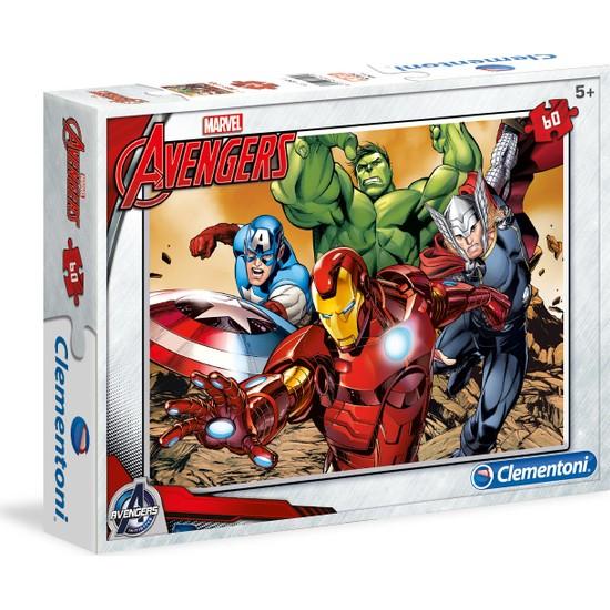 Clementoni 60 Parça Puzzle Avengers S.C.
