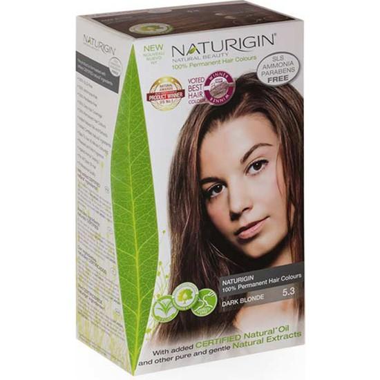 Naturigin Organik İçerikli Saç Boyası 5.3 Koyu Kumral