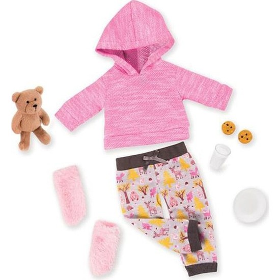Our Generation Kıyafet Deluxe Pajama Plusg Bear