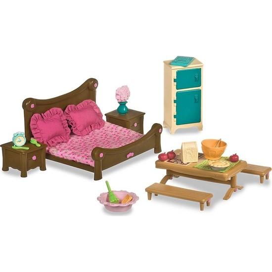 Li'l Woodzeez Yatak Odası Ve Yemek Odası Seti