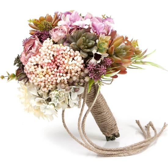 Elit Doğal Görünümlü El Çiçeği