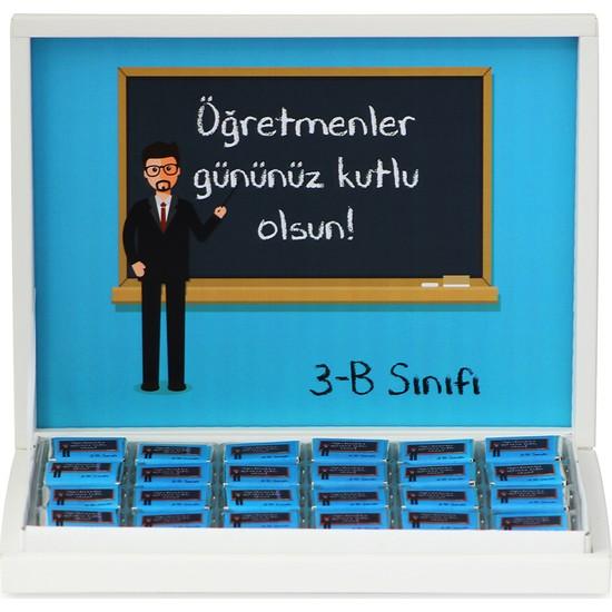 Elit Erkek Öğretmen İçin Öğretmenler Günü Çikolatası